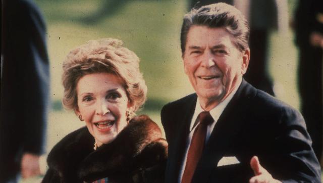 Viết một chút về Nancy Reagan