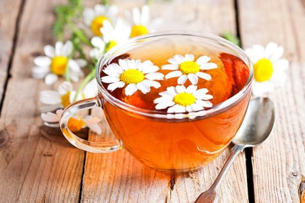 trà thảo dược, trà hoa cúc, hoa cúc, trị mất ngủ, trị ung thư