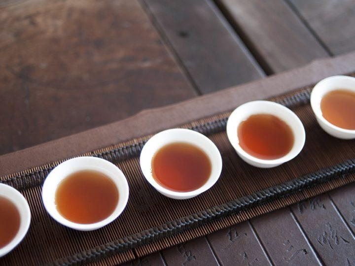 Thành phần hoá học của trà