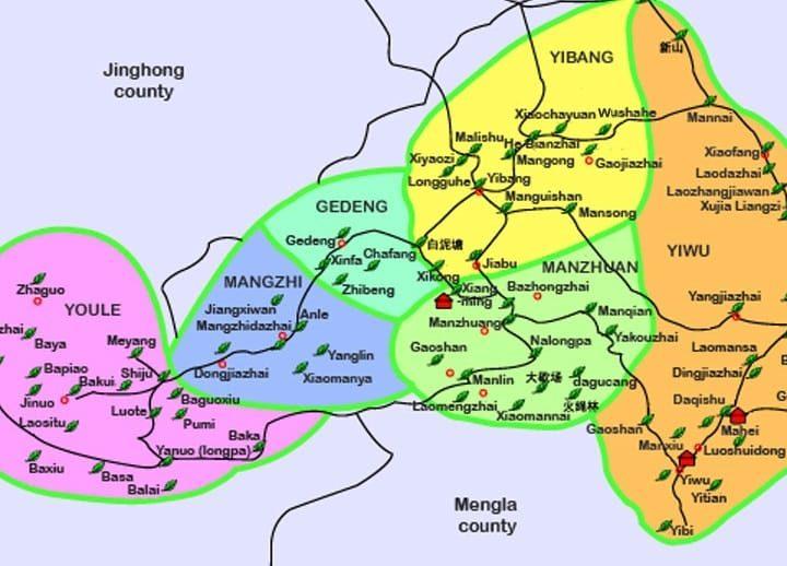 Dị Võ: vùng đất gắn liền với lịch sử trà Phổ Nhĩ