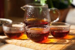 hồng trà, trà đen, chẻ đen