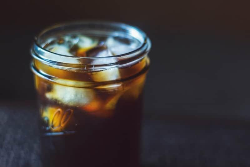 trà đen, trà đá, trà pha lạnh