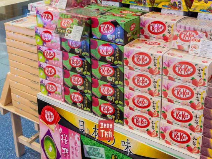 Kikat Trà Xanh: 10 phiên bản kitkat trà xanh cực hot ở Nhật
