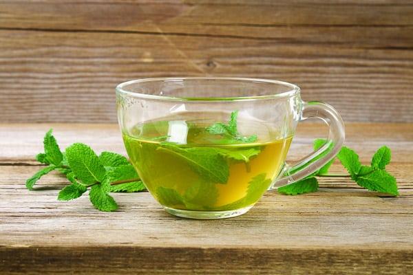 trà xanh, chè xanh, trà bạc hà
