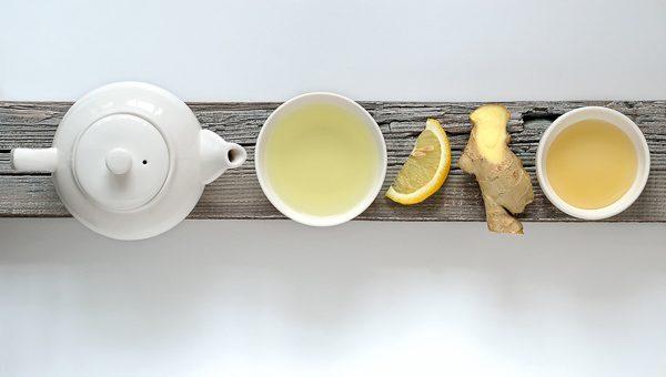 trà giảm cân, trà gừng, trà xanh