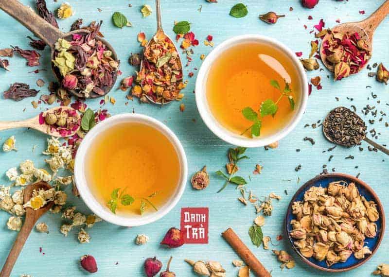 trà dưỡng nhan, trà detox, trà giảm cân