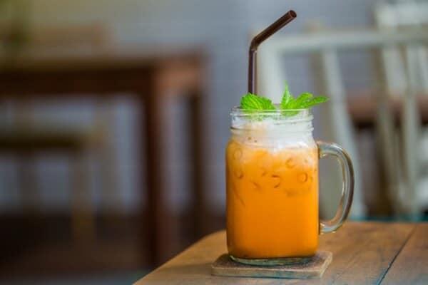 trà sữa thái, trà thái đỏ